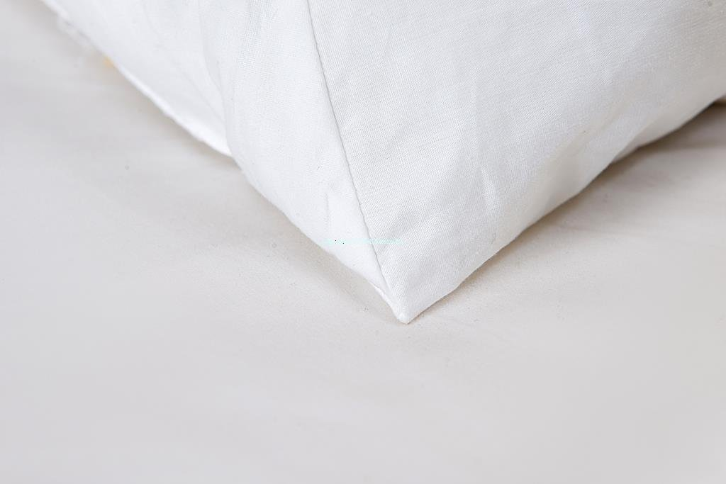 Set of 2 - Wedge Pillow - 100% Cotton Shell - for Bed, Couch, Floor - Exclusively by Blowout Bedding RN# 142035 by Web Linens Inc (Image #3)