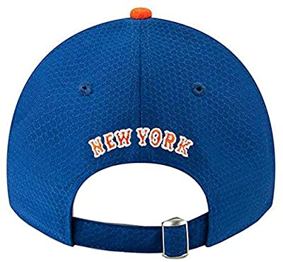 New Era 2019 MLB New York Mets Baseball Cap Hat Bat Practice BP 9Twenty Adjust Royal/Orange