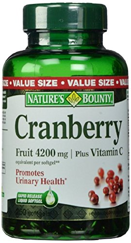 Natures Bounty Cranberry 4200mg Vitamin