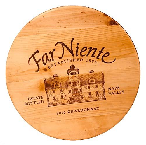 Artisan Lazy Susan Far Niente NAPA Valley Wines 20
