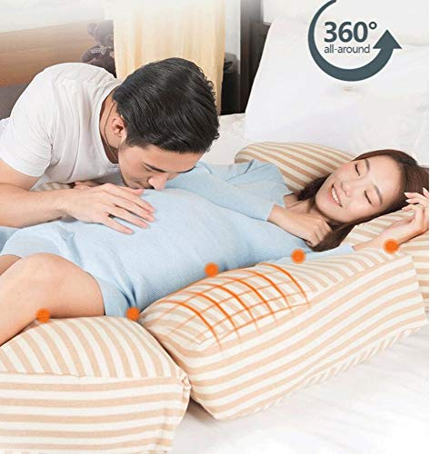 Large U-shaped Pillow-For Pregnant Women, Waist Pillow, Multi-functional Side Pillow, Large U-shaped Pillow For Pregnant Women (color : A)