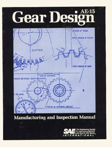 Gear Design, Manufacturing, and Inspection Manual (AE (SERIES))
