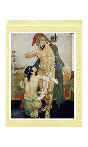 "William Russell Flint Greeting Cards (20 Designs from ""The Odyssey of Homer"" [1924])"