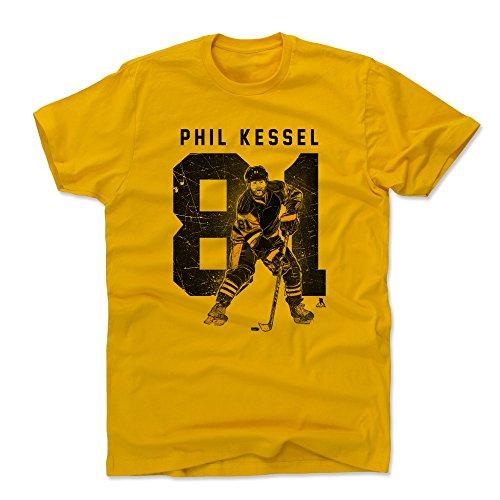 500 LEVEL Phil Kessel Cotton Shirt X-Large Gold - Pittsburgh Hockey Men's Apparel - Phil Kessel Grunge K