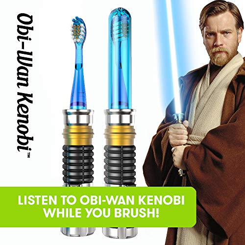 Grosvenor Star Wars Obi-Wan - Cepillo de dientes infantil: Amazon.es: Bebé