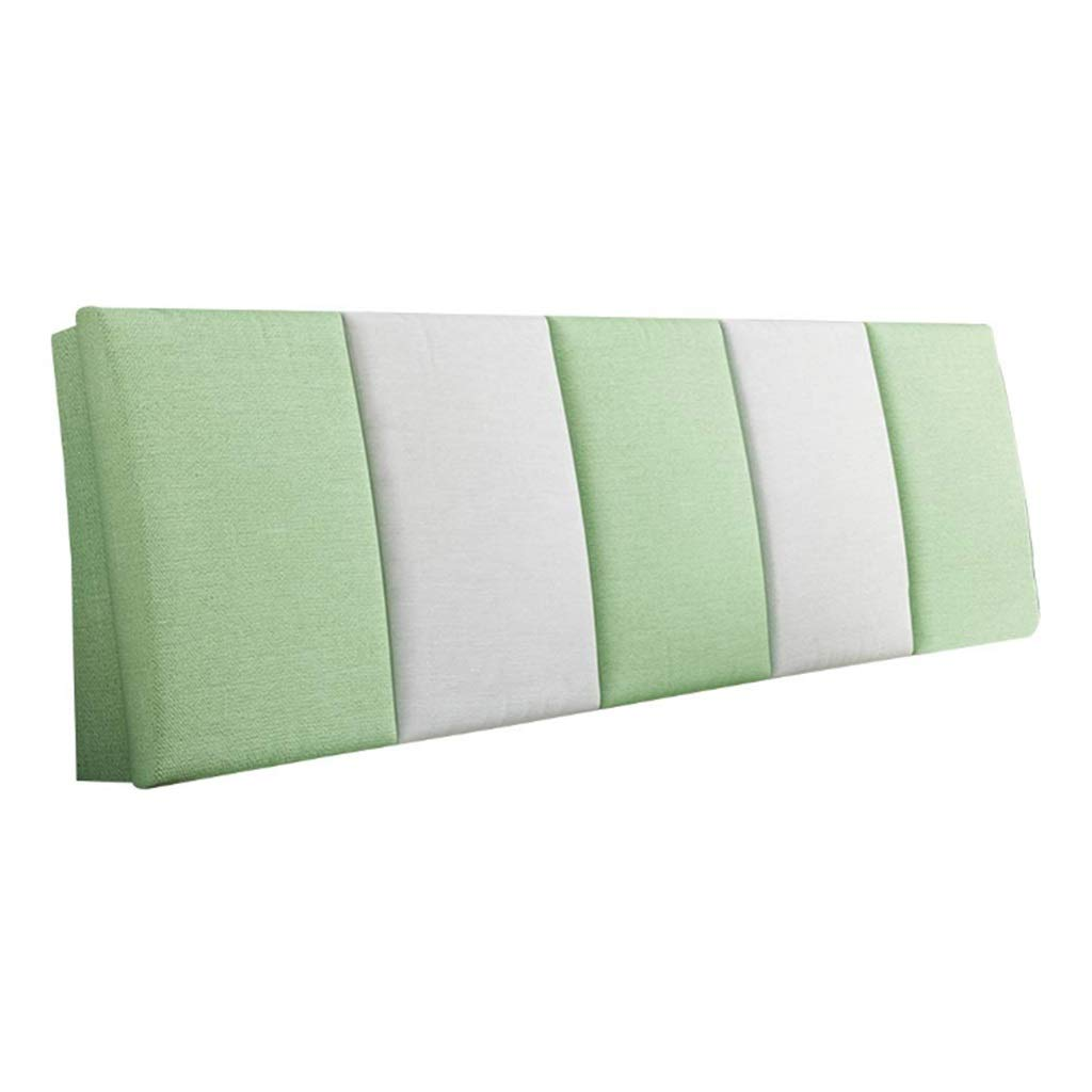 ZHWNGXO Bedside Cushion Without Bed backrest Cushion Large Pillow Waist pad 3 Color 14 Size (Color : B, Size : Bed Head 200×55cm) by ZHWNGXOlian