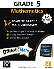 Dynamic Math Workbook - Complete Grade 5 Mathematics Curriculum (BC Edition)