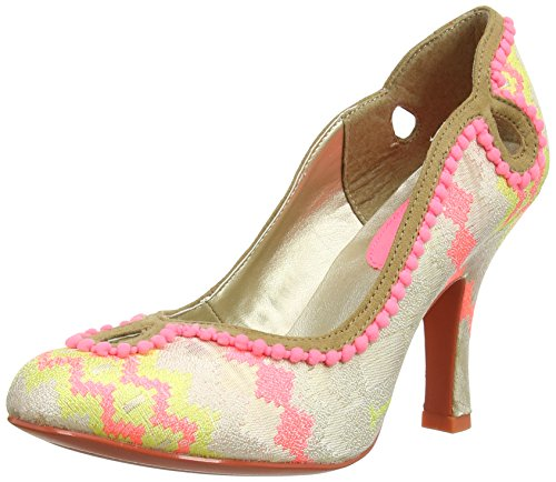 Ruby Shoo Womens Miley Court Shoes Multi