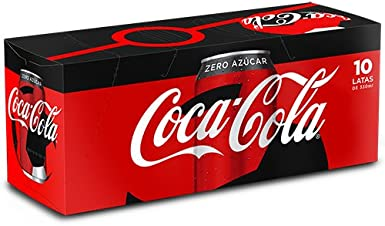 Coca-Cola Zero - Lata 330 ml (pack de 10) - Edición especial ...