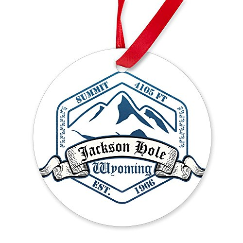 CafePress Jackson Wyoming Ornament Christmas