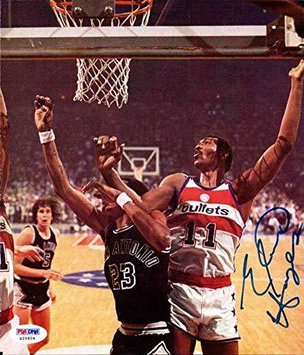 Elvin Hayes Autographed 8x9.5 Magazine Page Photo Washington Bullets #S25604 PSA/DNA Certified Autographed NBA Magazines