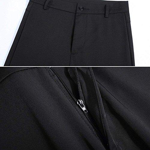 High Pantaloni Basic Gamba Palazzo Colori Ragazza Lannister Casual Per Solidi Ufficio Sciolto Larga Waist Tuta Fashion Eleganti Donna Nero Business n5pqOI