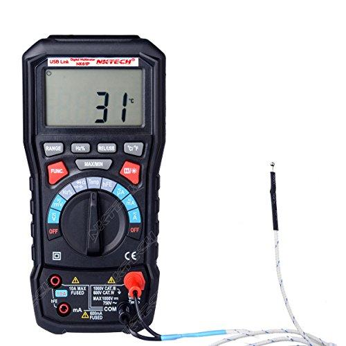Uni-Trend UT61E Handheld Digital Multimeter Tester - 8