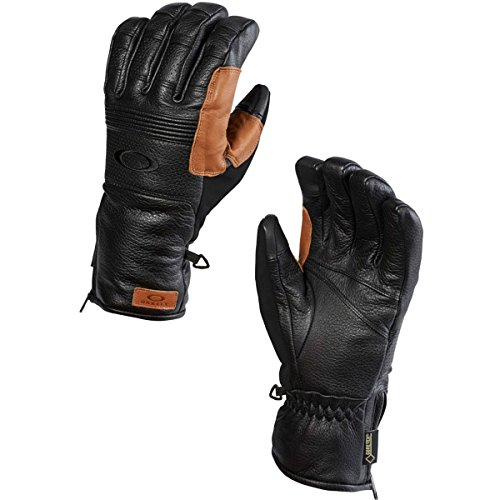 Oakley Men's Silverado Gore-Tex Gloves, Jet Black, Small