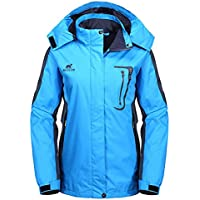 Diamond Candy Outdoor Women Waterproof Hiking Jacket (Several Colors)