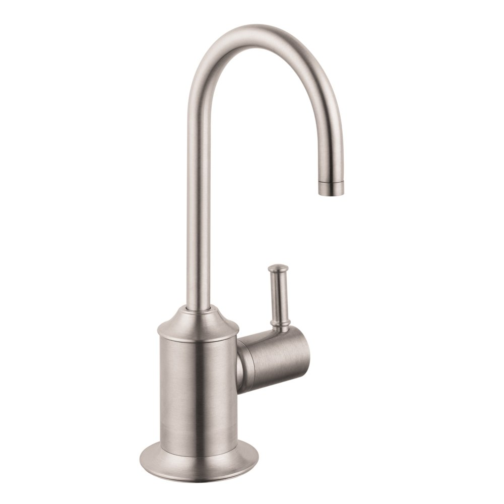 Hansgrohe 04302800 C Beverage Faucet, Steel Optik - Touch On Kitchen ...