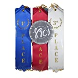 Award Ribbons Premium office and school supplies Complete Set of 21 Event card and string Bundle decoration set