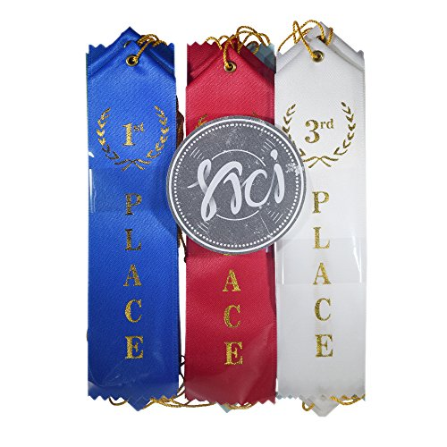 Award Ribbons Premium office and school supplies Event card and string Bundle decoration set