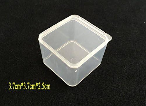 Desconocido Caja de anzuelos de Pesca pequeña de plástico Caixa de ...