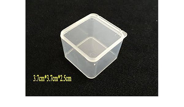 Desconocido Caja de anzuelos de Pesca pequeña de plástico ...