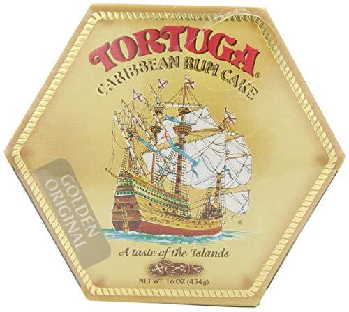 Tortuga Original Caribbean Rum Cake, 16-Ounce Cake (Pack of 3) by Tortuga (Image #1)