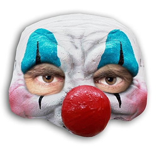 Generic Mahal604 – happy Clown Large Nose Latex Half Mask Adult – one Size