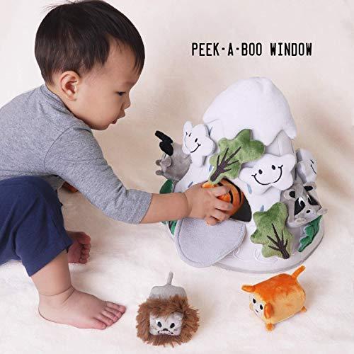 OK!DZO 12'' Mountain & Animal Shape Sorter Plush Developmental Toy Set (16 pcs)- Cognitive & Motor & Social Skills- Fun Bright Colors & Textures for Babies 0-36 Months by OK!DZO (Image #7)