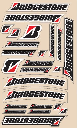 N-style Decal (N-Style Decal Sheets - Bridgestone Universal Kit V3 N30-1008)