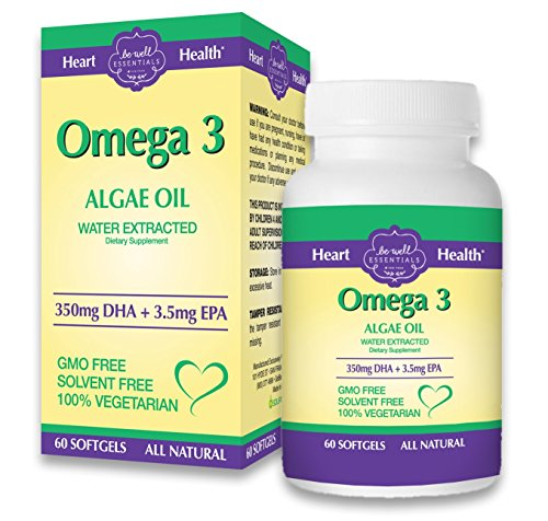 Omega 3 with algae oil water extracted for highest for Fish oil good or bad