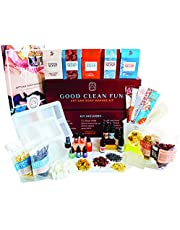 Soap Making Kit for Adults Beginners | Soap Making Supplies for Melt and Pour Soap | 2x Soap Base 2x Silicone Molds 4x Dry Flowers 5x Fragrance Oils 6x Color Dyes, Homemade DIY Soap Kit for Soap Maker