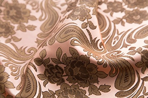 2018 New Chinese QiPao Cheongsam Silk Brocade Fabric DIY Sewing Fabrics By The 1/2 Meter Wholesale Price 70cm 50cm (5 (70cm wide 50cm))