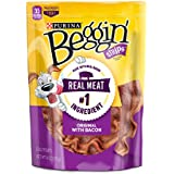 Purina Beggin' Strips Bacon Flavor Dog Treats - Six (6) 6 oz. Pouches