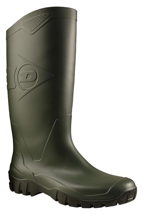 Dunlop K680011 PVC KNIELAARS - botas de goma sin forro con caña media de goma Unisex