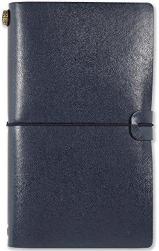 Voyager Refillable Notebook - Midnight Blue (Traveler
