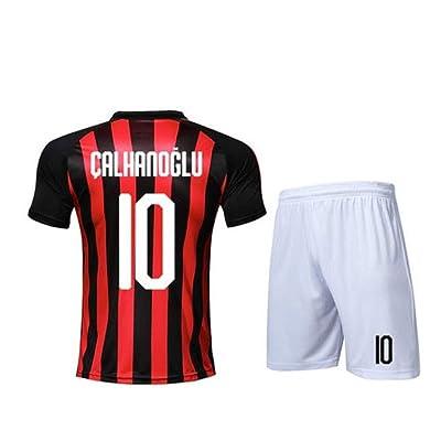 GGLV Adulto 22 Jerseys de fútbol Niños Fútbol Elegante Sastrería Conjuntos Ropa Manga corta Niños Uniformes de fútbol Chándales 159 (Color : B, Size : M)