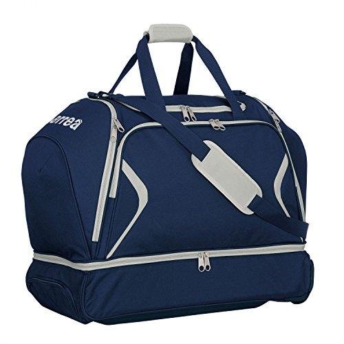 Luther Trol Borsa da viaggio XL · Universal Trolley da viaggio con scomparto portascarpe, marineblau - grau, Taglia unica