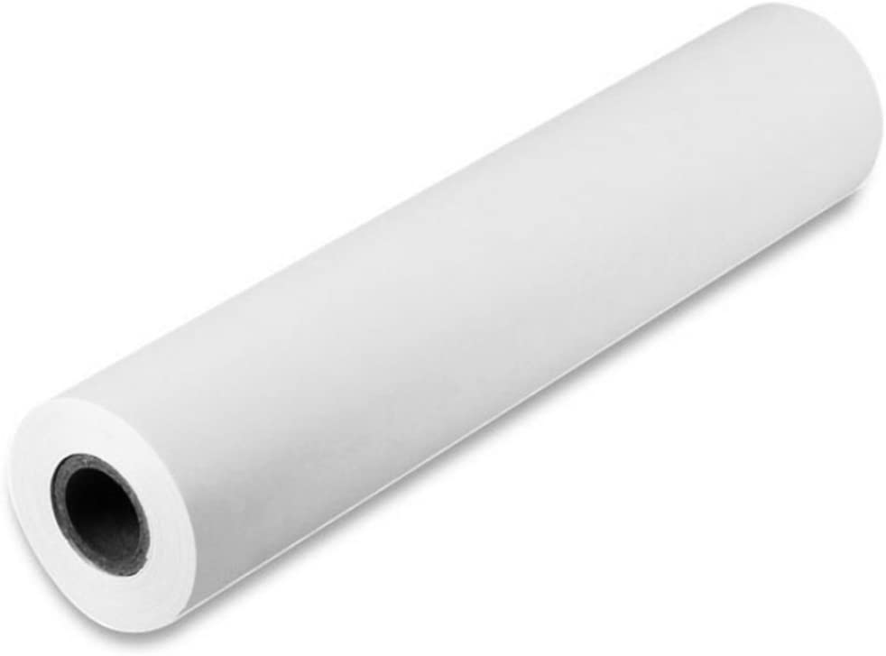 likeluk Blanco Papel Niños Dibujo Dibujo papel de papel para pintar, 45 cm de ancho x 25 m rollo: Amazon.es: Oficina y papelería