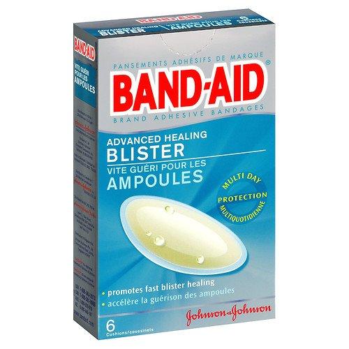 Band Aid Advanced Healing Blister Cushions (Band-Aid Advanced Healing Blister, Cushions 6 ea Pack of 6)