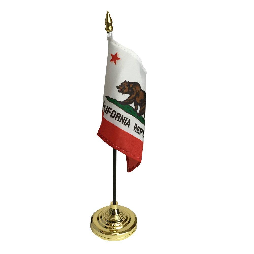 アメリカンフラッグ★スティックカリフォルニア ミニ旗