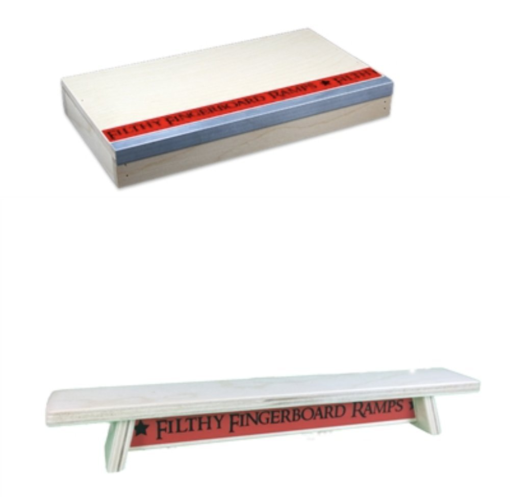 Venice Manual Pad and Wood Bench Combo, for tech Decks and fingerboarding