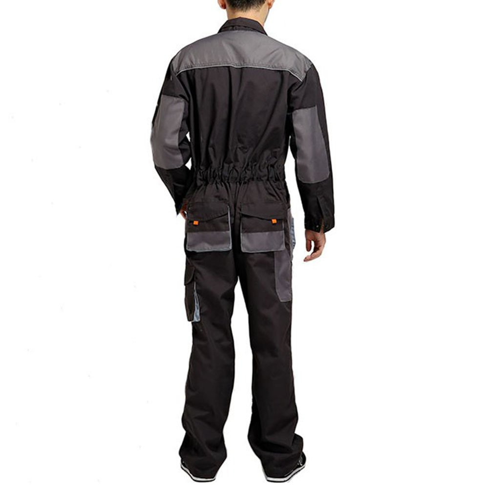 Aolamegs Men's and Women's Long Sleeve Coveralls for Worker Repairman Machine Auto Repair Electric Welding Work Clothing US S by Aolamegs (Image #2)