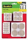 Scotch Brand Felt Pads, Premium