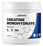Cheap Nutricost Creatine Monohydrate (500 Grams) (Fruit Punch)