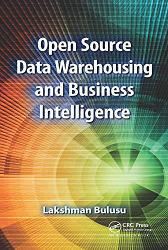 Open Source Data Warehousing and Business Intelligence