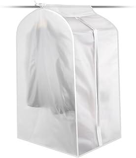 K-Park Copriabiti Antipolvere Pacchetto di Suit Vestito Copertura Trasparenti Impermeabile Lavabile Indumento Copri per Storage di Ripostiglio e di Viaggio, S/M/L