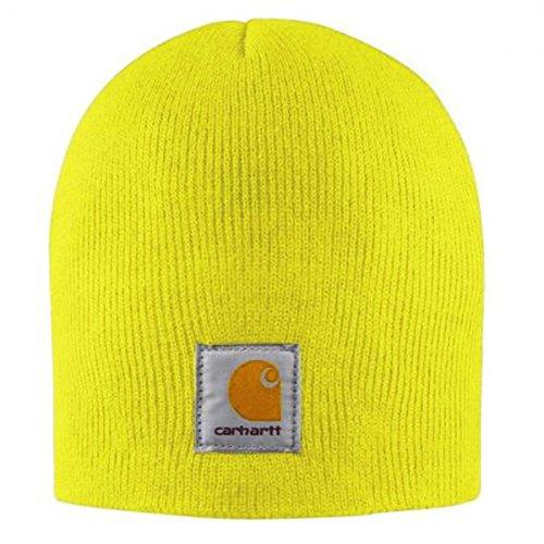 Amarillo Carhartt Gorro A205BLM Punto Cap Sombrero de FxB14qwP