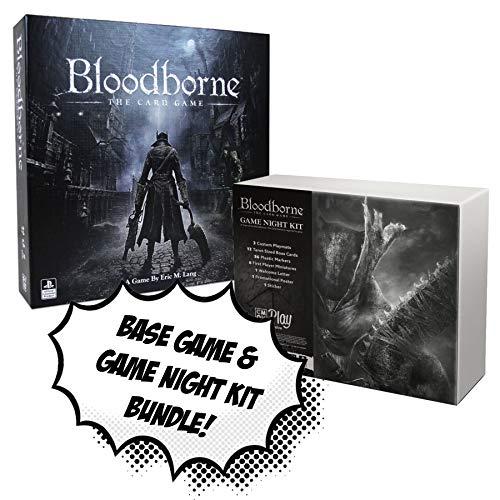 Bloodborne The Card Game + Bloodborne Game Night Kit! Board Game Bundle! (Best Randomly Generated Games)
