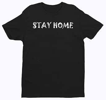 T-shirt Stay Home design - Men