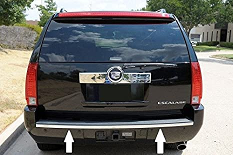 image unavailable  image not available for  color: 07-14 cadillac escalade  chrome bumper tailgate trunk trim