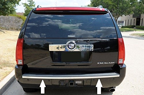Cadillac Escalade Base Trim - 07-14 Cadillac Escalade Chrome Bumper Tailgate Trunk Trim Molding 08 09 10 11 12 13 2007 2008 2009 2010 2011 2012 2013 2014